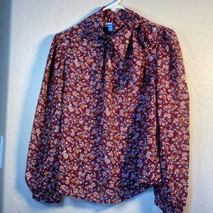 Roommates Floral blouse